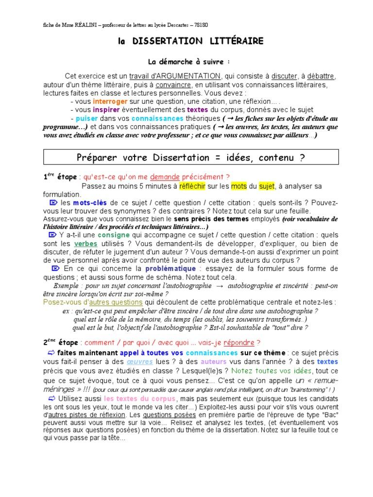 Dissertation resources