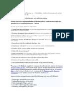 Business Report Data
