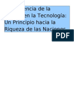 Proyecto de Investigacion - Guerra y Tecnologia