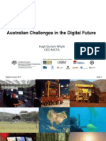 Hugh Whyte, NICTA, Australian Challenges in the Digital Future