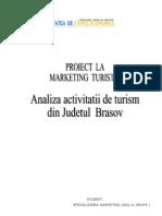 Analiza Activitatii de Turism Din Judetul Brasov