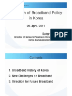Sung-Wook Hur, KCC, Evolution of Broadband Policy in Korea