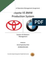 Big Paper-Toyota vs BMW Production System