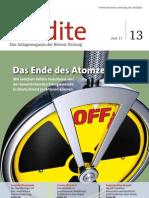 Das Ende des Atomzeitalters - Mit welchen Aktien Investoren von der bevorstehenden Energiewende in Deutschland profitieren können