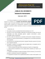 Acta de Asamblea 25may11