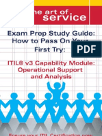 ITIL V3 Service Capability OSA Certification Exam