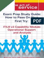 ITIL V3 Service Capability OSA Certification Exam