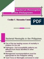 Pediatric Bacterial Meningitis in Philippines