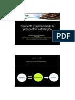Concepto y Modelo de La Prospectiva Mojica Guatemala