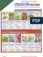 Daftar Harga Buku Bse Sd, Smp, Sma, Smk