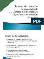 Evaluación TDHA_Jornadas