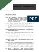 Listado bibliográfico TDAH_Jornadas