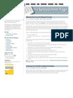 Excel Formula Tips 2