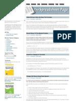 Excel Formula Tips 4