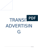 Transit Advertising Final
