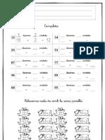 Ficha unidades y decenas 2