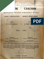 Glasnik Zemaljskog Muzeja 1918.