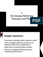 Chapter 2 - Developing Marketing Strategies and Plans