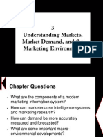 Chapter 3 - Understanding Markets, Market Demand, And the Marketing Environment