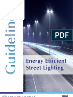 Energy Efficient Street Lighting Guidelines