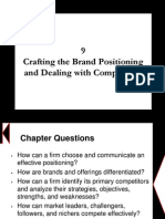 Chapter 9 - Crafting the Brand Positioning
