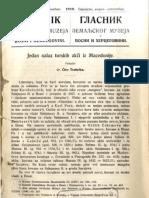 Glasnik Zemaljskog Muzeja 1919. Knjiga 2.