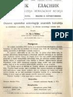 Glasnik Zemaljskog Muzeja 1919. Knjiga 3.