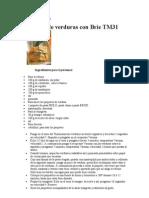 Las Mejores Recetas Con Thermomix Worker