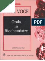 Viva Voce Orals in Biochemistry