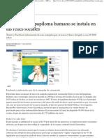 La Vacuna Del Papiloma Humano Se Instala en Las Redes Sociales