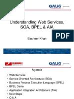 Understanding Web Services, SOA & BPEL