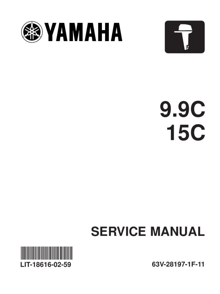 6599014 download 2004 2005 yamaha outboard 9 9c 15c service manual 2 rh es scribd com Outboard Rigging Tubes for Wiring Rigging Yamaha Outboard Parts