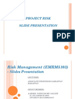 Assignment Risk Management (EMRM5103) - Presentation