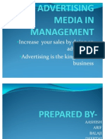 53127426 Advertising Media in Management