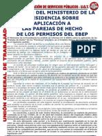 Criterios Permisos EBEP Para Parejas de Hecho