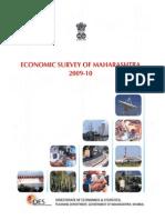 Economic Survey 2009-10 Maharashtra