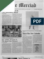 The Merciad, March 26, 1987