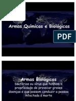 Armas Química e Biologicas