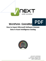 WhitePaper-ConfigMgr2007-How to Import Microsoft Software Licenses Data in Asset Intelligence Catalog