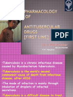 16101645 Pharmacology Anti Tubercular Drugs First Line