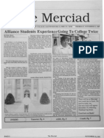 The Merciad, Nov. 12, 1987