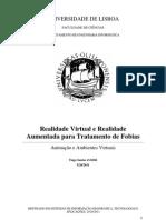 Realidade Virtual e Realidade Aumentada Para o Tratamento de Fobias
