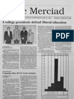 The Merciad, Feb. 25, 1988