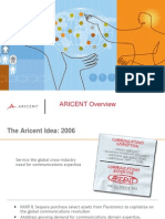 Aricent Overview