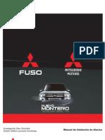 Montero 2008-2010 diagrama de instalacion de alarma