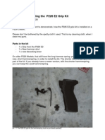 Manual for Installing the P226 E2 Grip Kit En