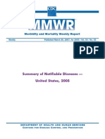 CDC Mmwr5453 Summary Comm Dz 2005