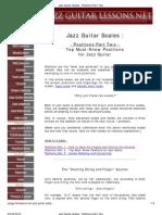 Jazz Guitar Scales PDF