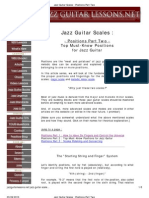 Jazz Guitar Scales PDF