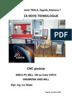 CNC Glodanje u Catii V5